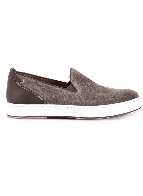Mocassini %100 Deri Loafer Ayakkabı Bej